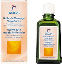Huile de massage Weleda