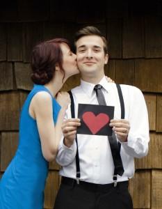 L'homme amoureux assume sa relation