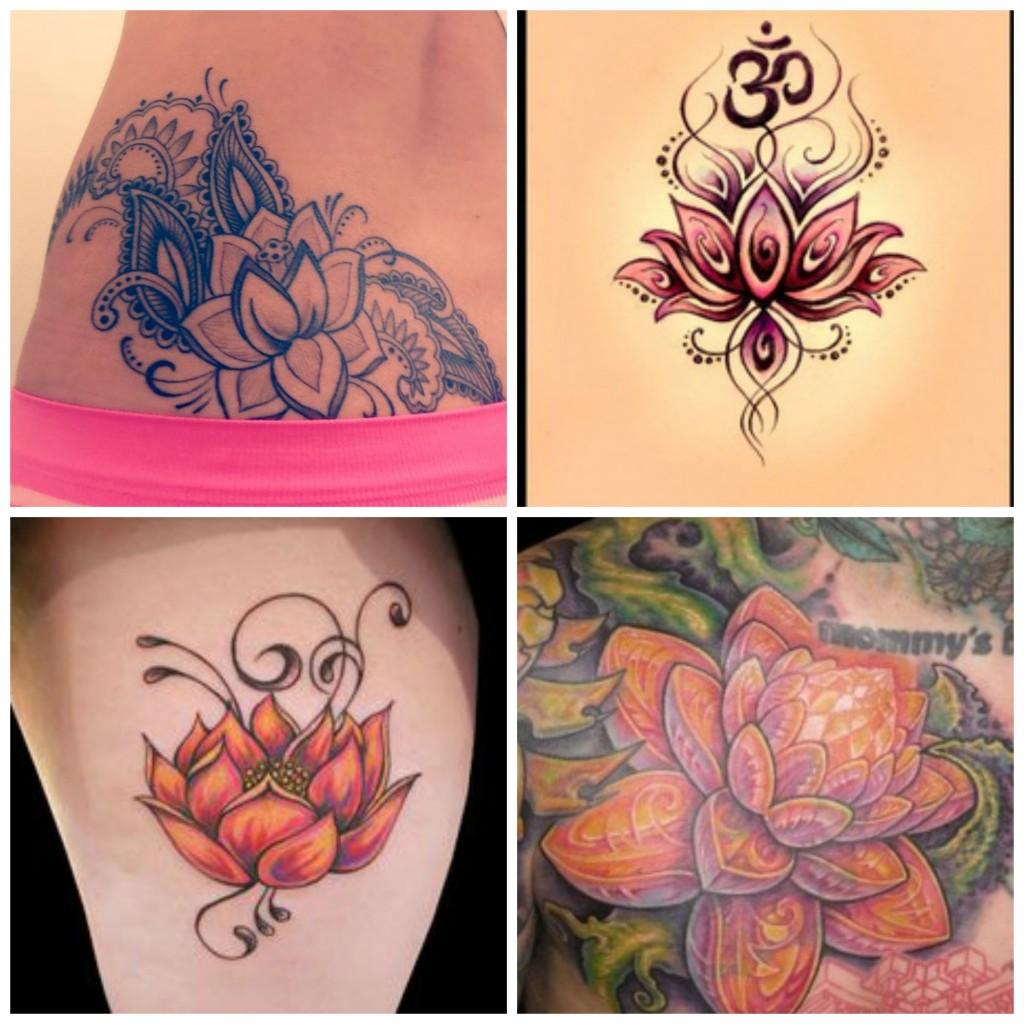 tatoo fleur de lotus