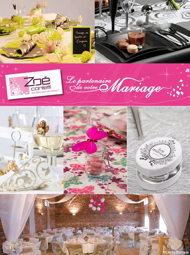 zoe confetti mariage