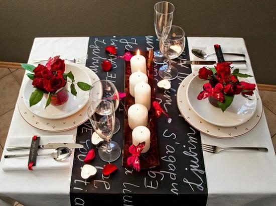 diner romantique decoration