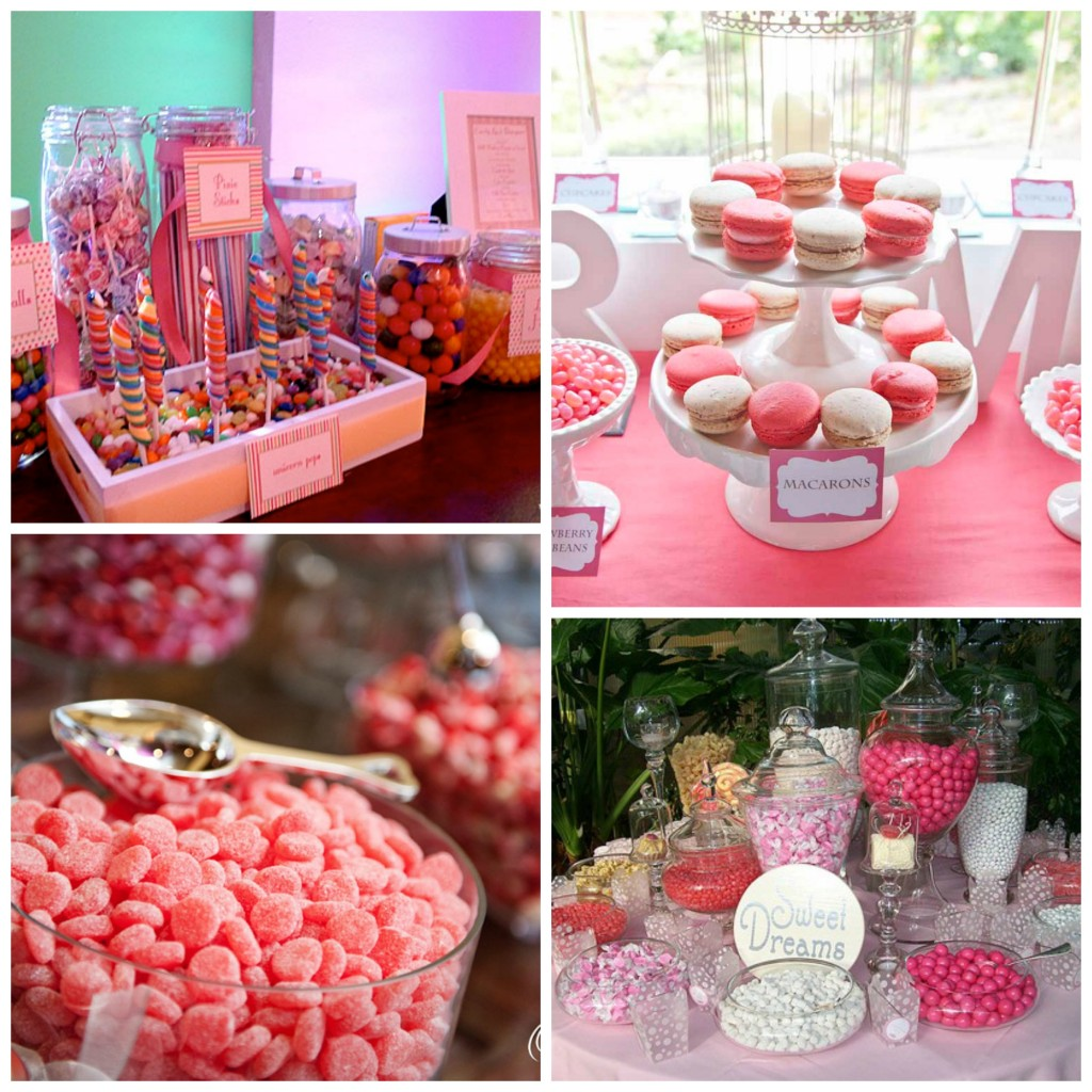 candy bar mariage anniversaire