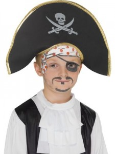 maquillage pirate enfant