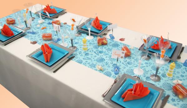 decoration de table marine