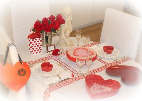 decoration coeur saint valentin